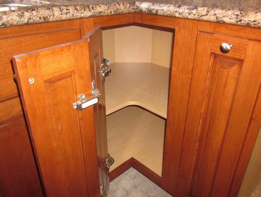 Kitchen Corner Cabinet Organizer