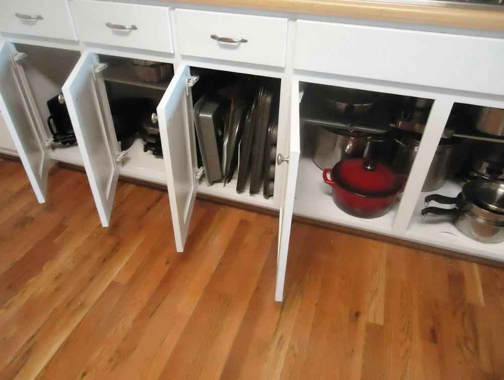 Kitchen Countertop Storage Cabinet