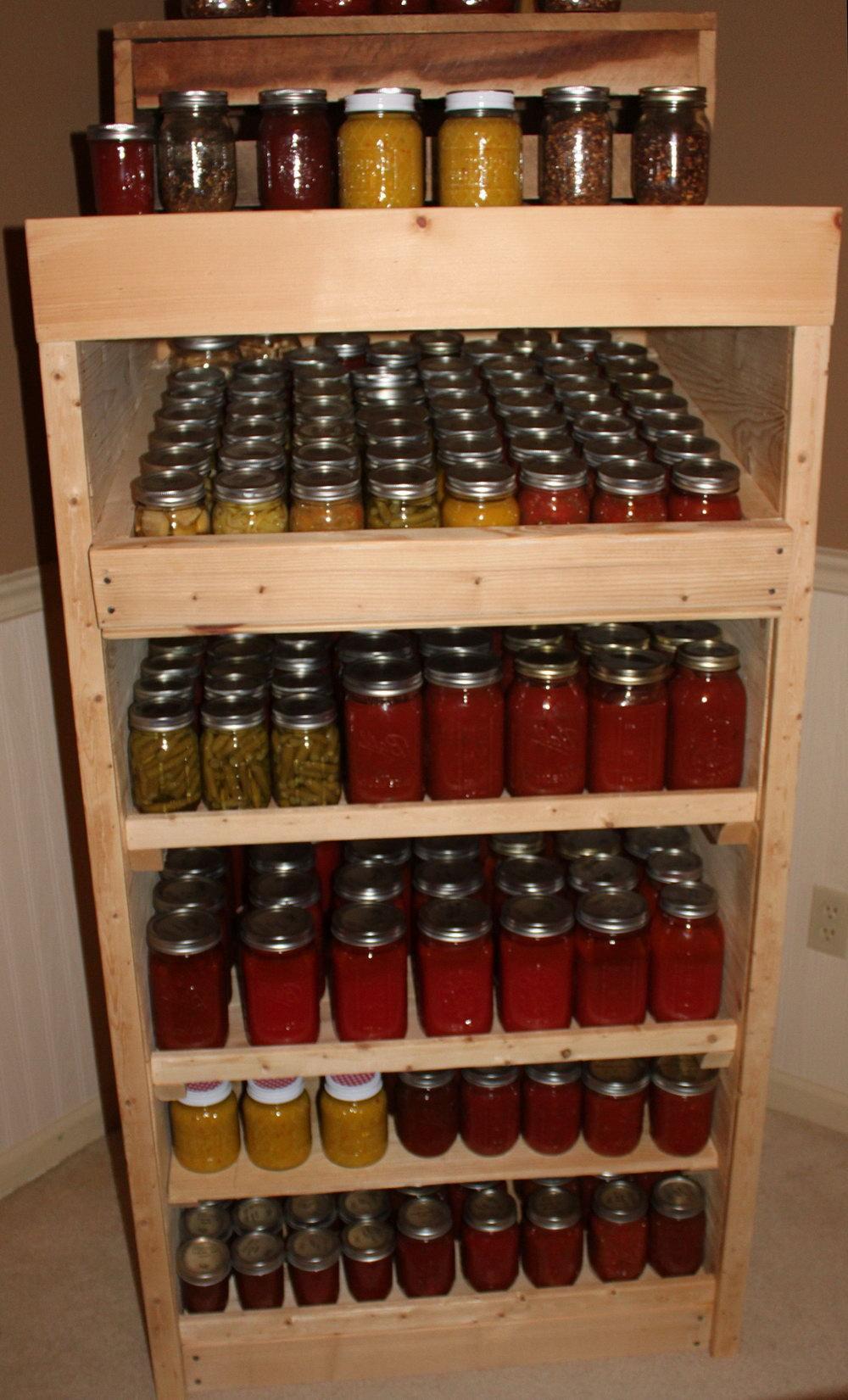 Kitchen Food Storage Cabinet