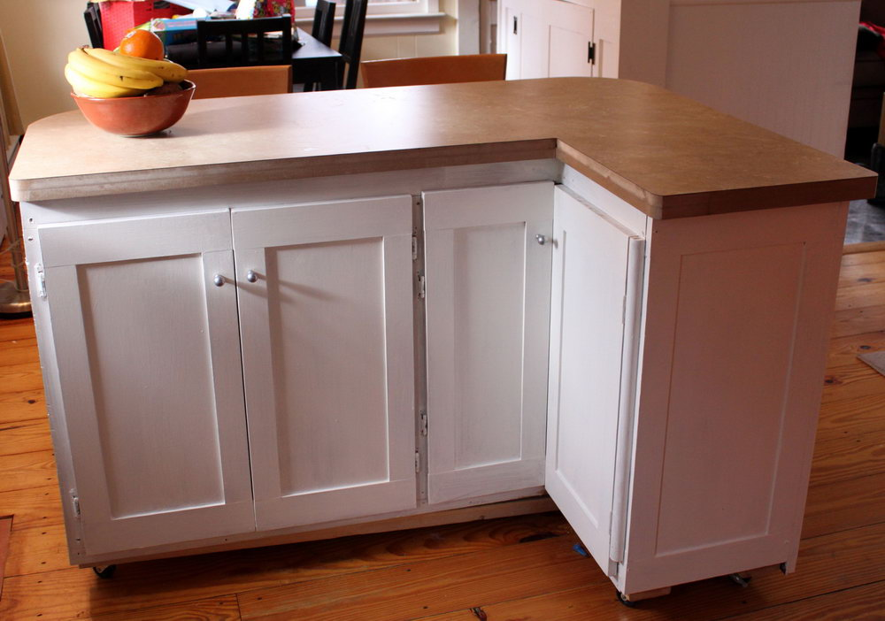 Kitchen Island Cabinets Diy