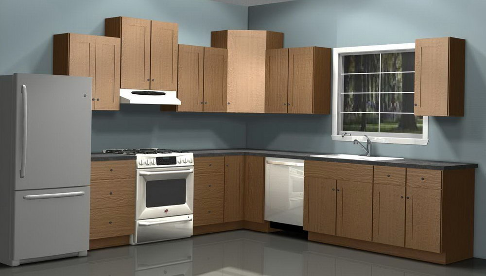 Kitchen Wall Cabinets Dimensions