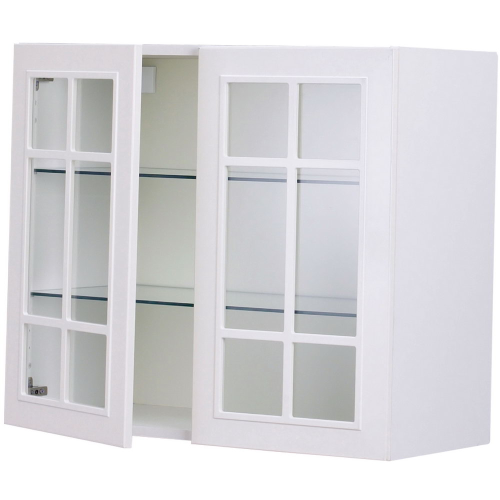 Kitchen Wall Cabinets Glass Doors