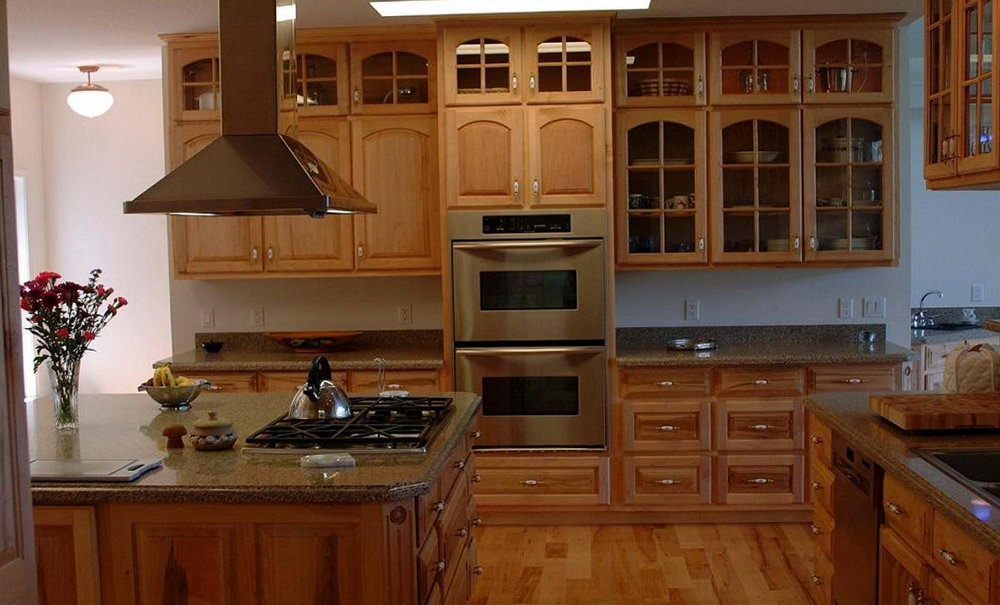 Maple Kitchen Cabinets Modern