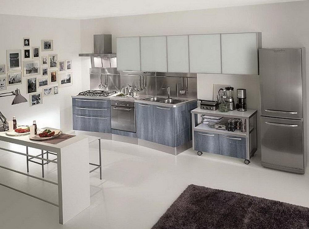 Metal Kitchen Cabinets Ideas
