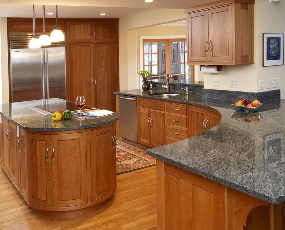Oak Kitchen Cabinets And Countertops