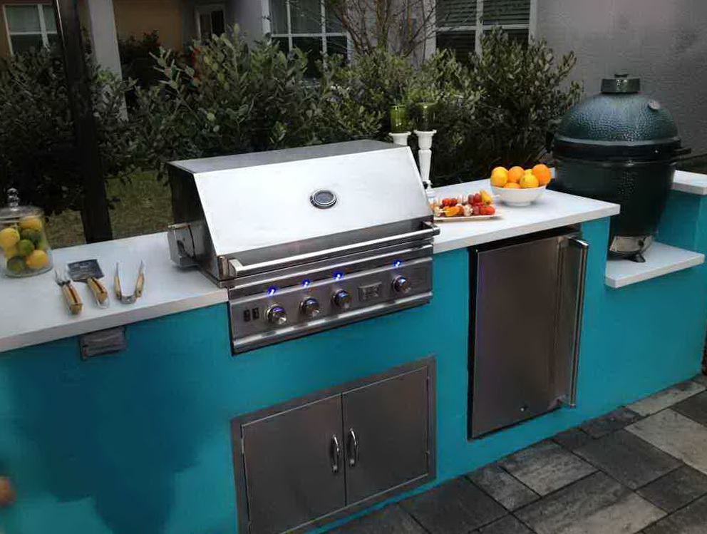 Outdoor Kitchen Cabinets Polymer
