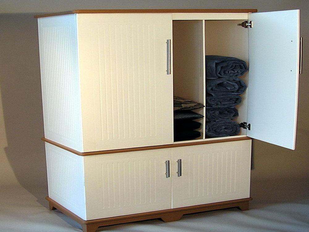 Outdoor Pool Towel Storage Cabinet