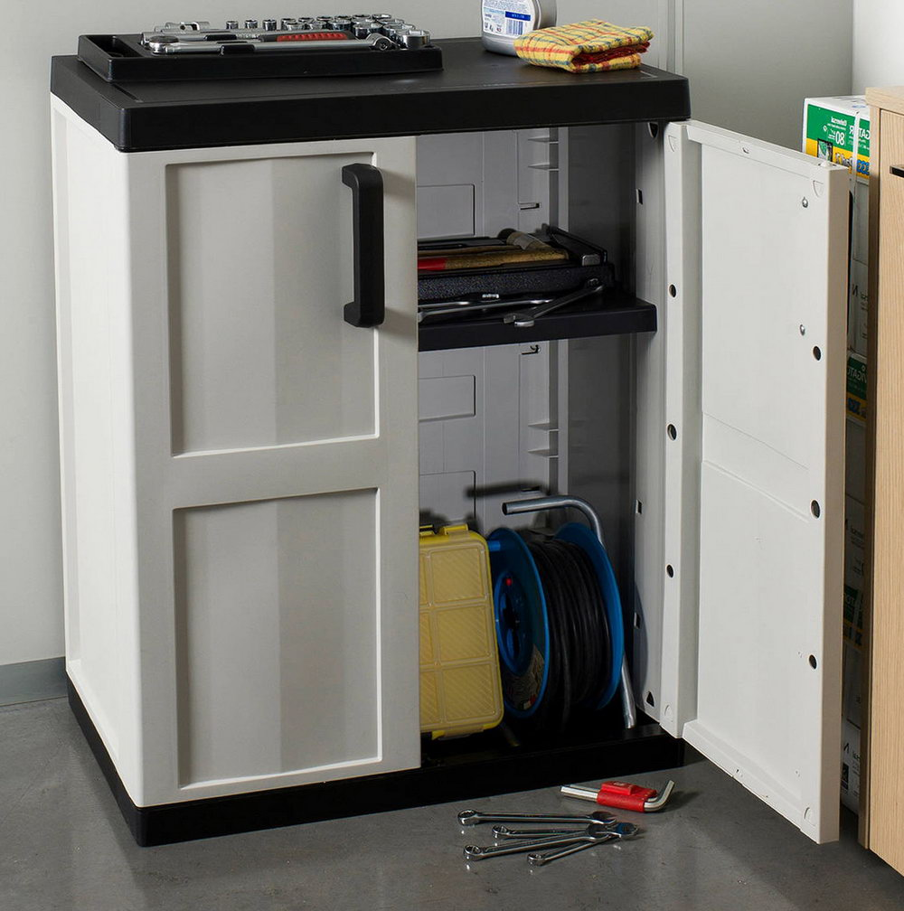 Outdoor Storage Cabinet With Shelves