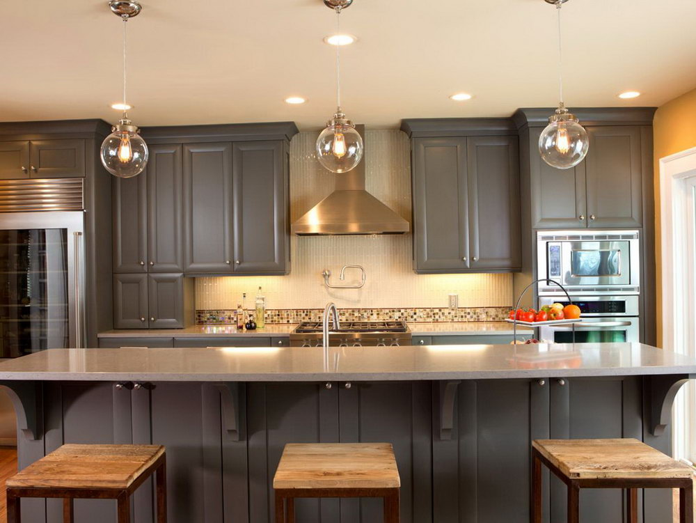 Paint Kitchen Cabinets Black