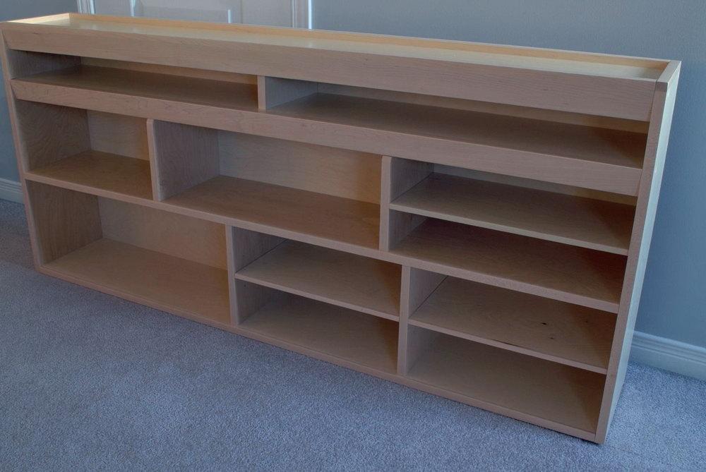 Plywood Storage Cabinet Design