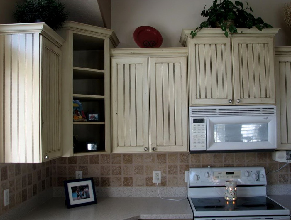 Reface White Kitchen Cabinets