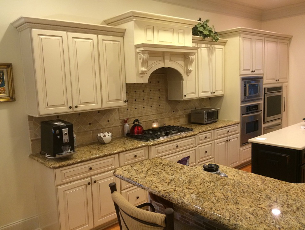 Refinish Old Kitchen Cabinets