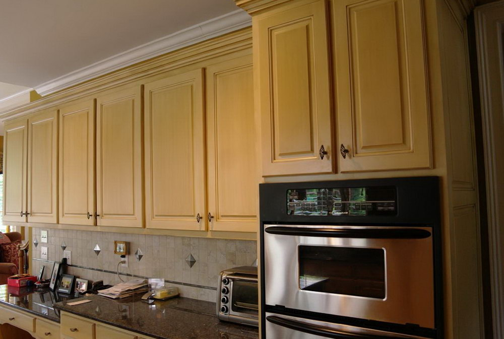 Refinish Wood Kitchen Cabinets