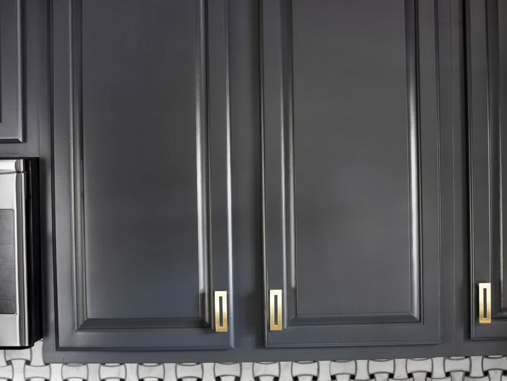 Refinishing Kitchen Cabinets Gray