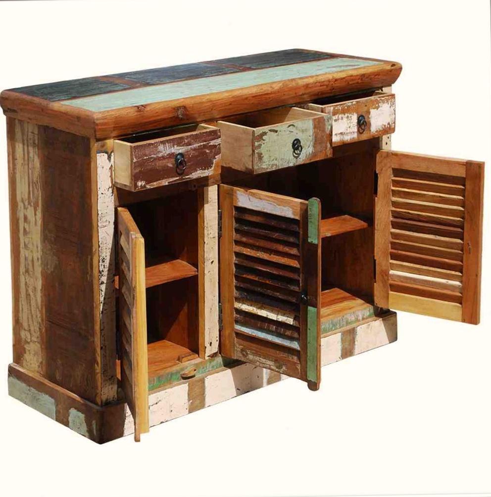 Rustic Kitchen Storage Cabinet