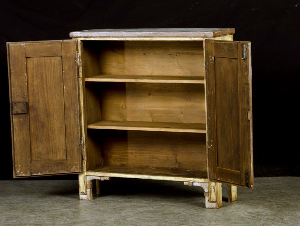 Shallow Storage Cabinet With Doors