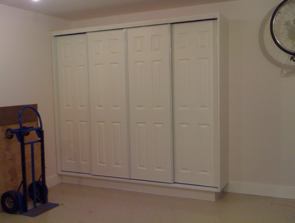 Sliding Door Cabinets For Storage