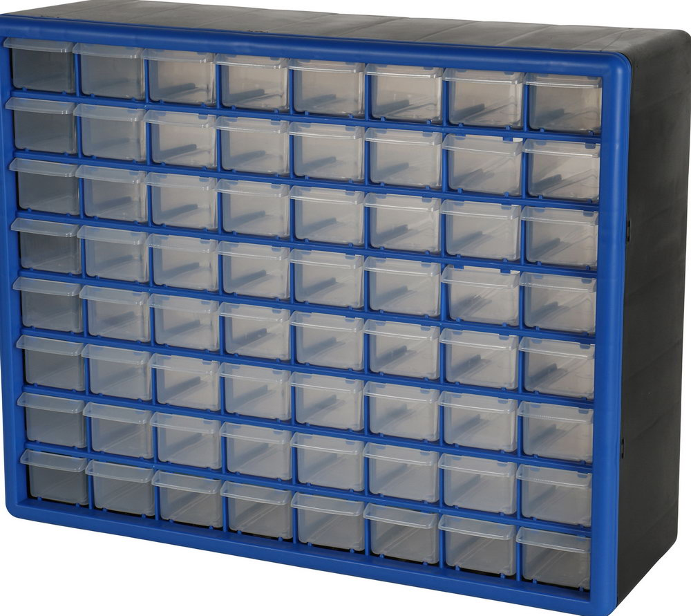 Small Parts Storage Cabinet 64 Drawer Cabinet
