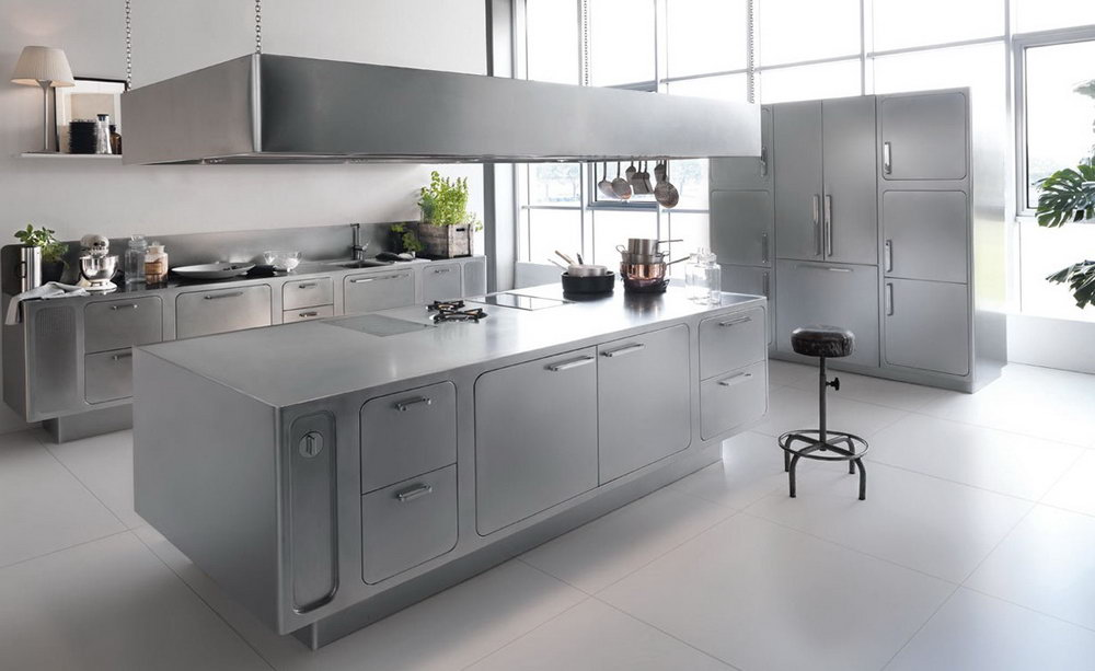 Stainless Steel Kitchen Cabinets Delhi