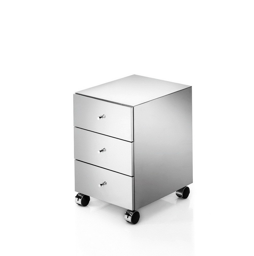 Stainless Steel Storage Cabinet With Wheels