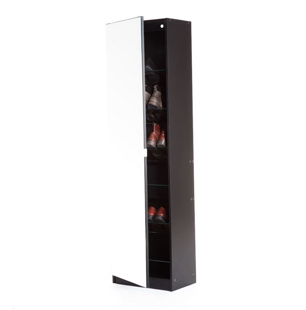 Tall Shoe Storage Cabinet With Doors