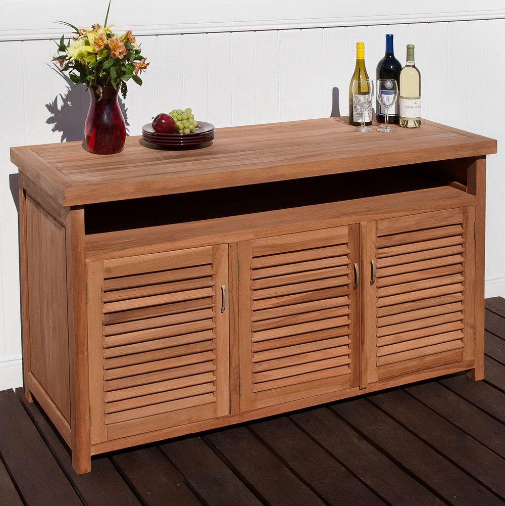 Teak Storage Cabinet Outdoor
