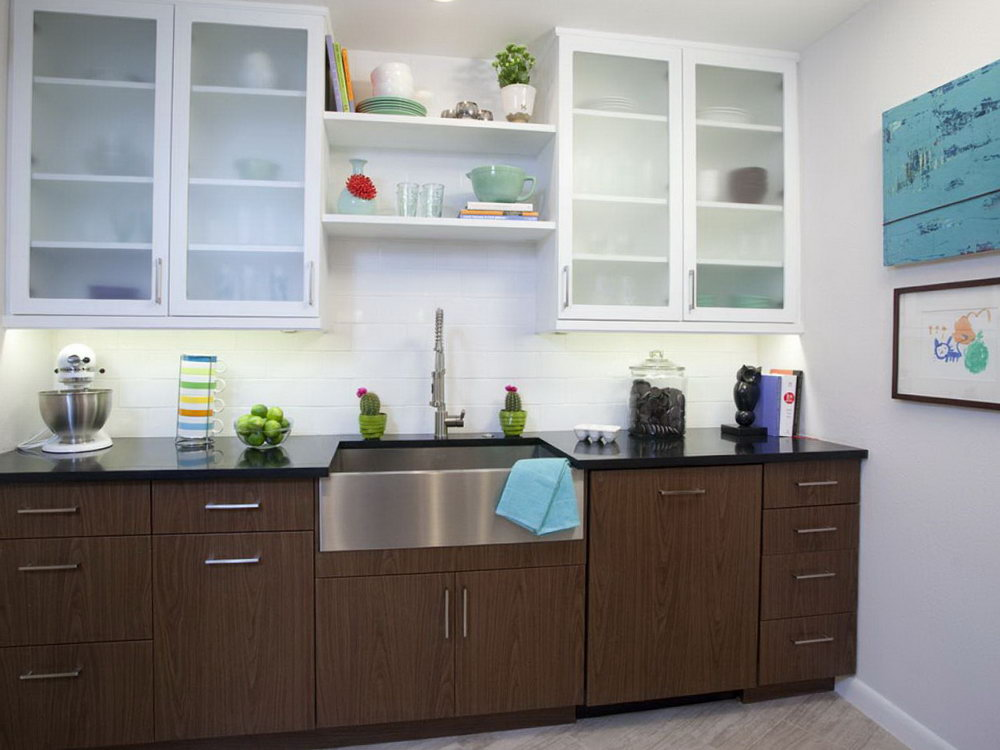 Two Tone Kitchen Cabinets Fad