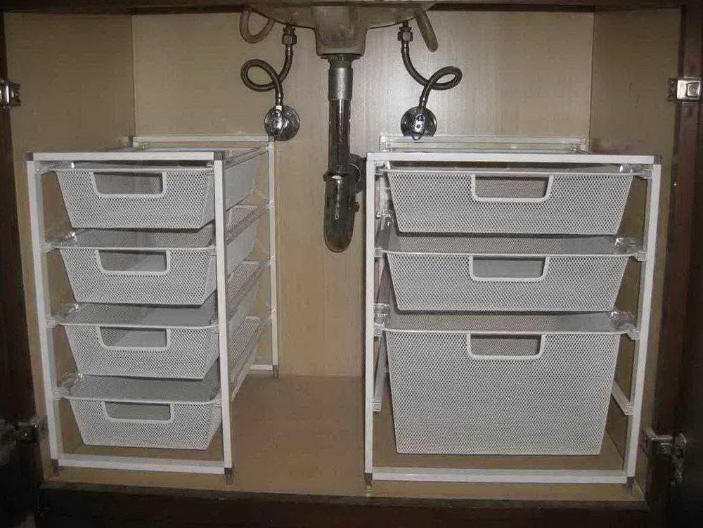 Under Cabinet Bathroom Storage Ideas
