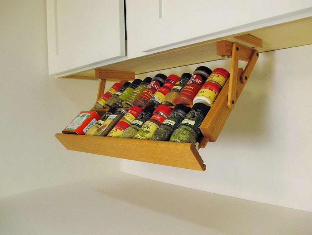 Under Cabinet Spice Storage