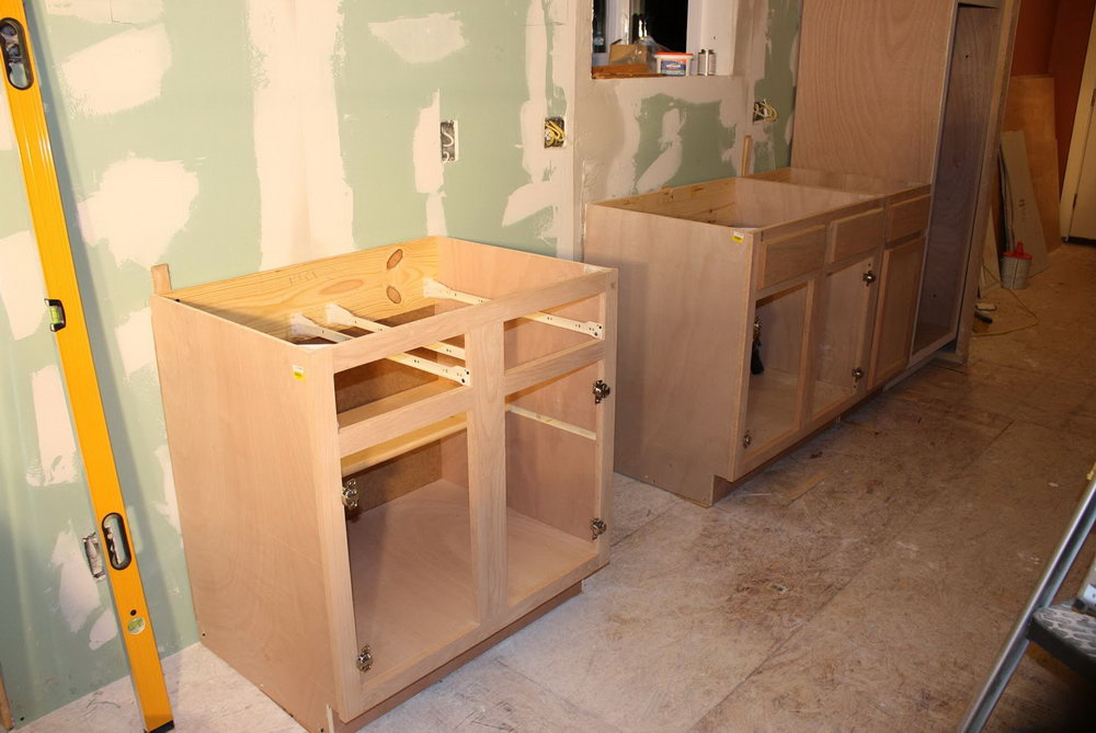 Unfinished Shaker Kitchen Cabinets