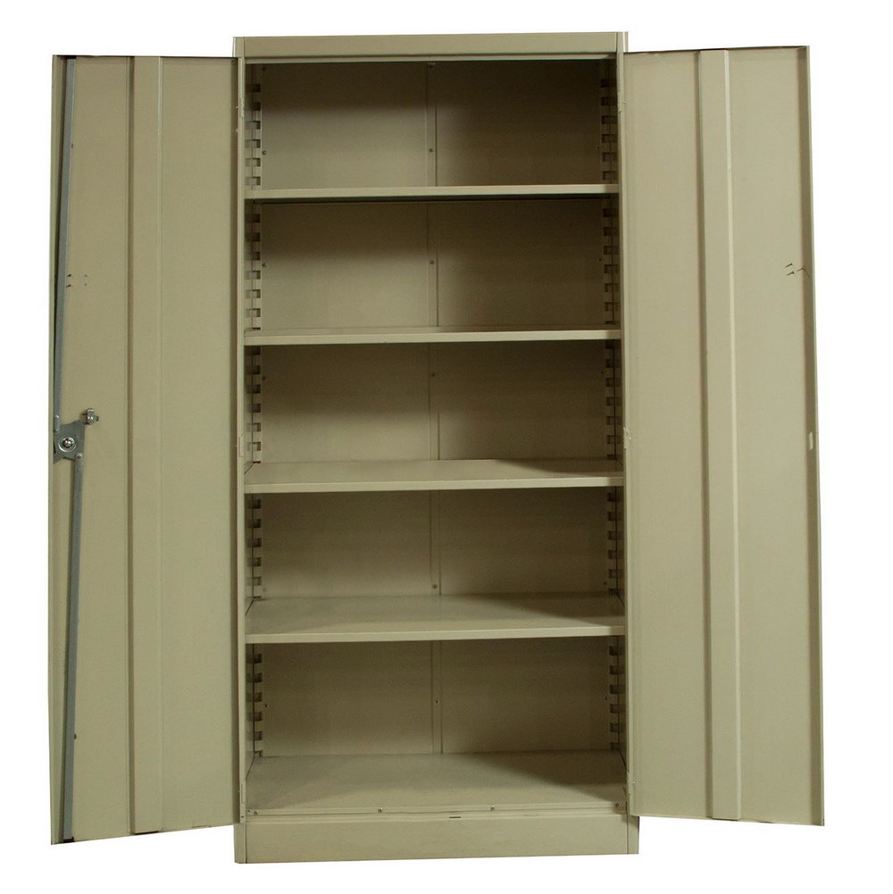 Used Metal Storage Cabinets With Doors And Shelves