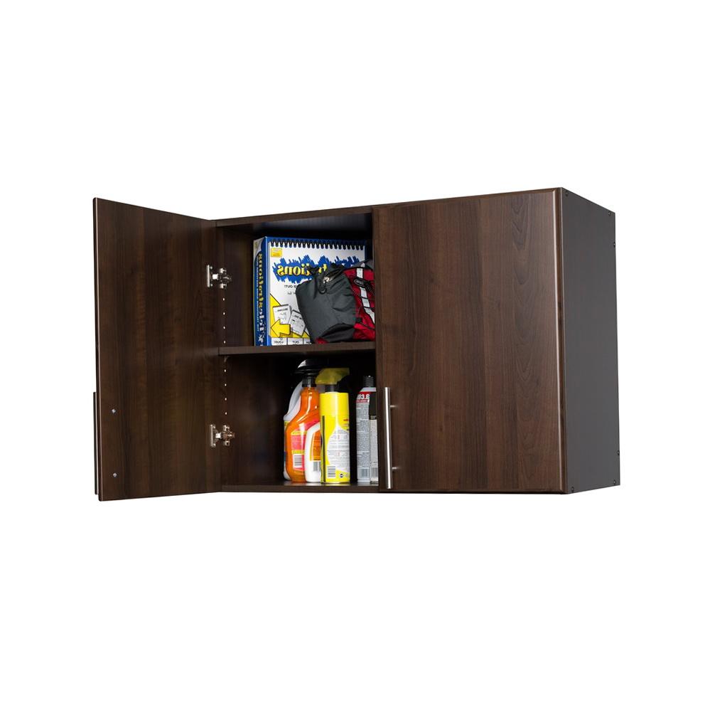 Utility Storage Cabinets 2 Door Organizer Espresso Room Essentialstm