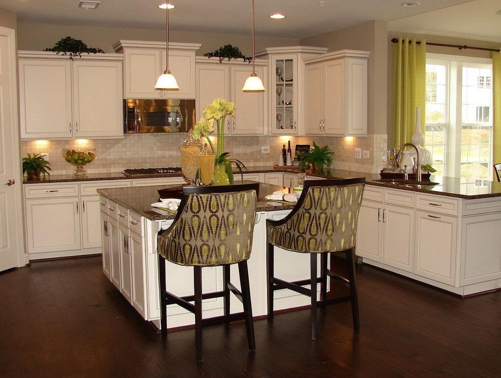 White Cabinets Kitchen Decor