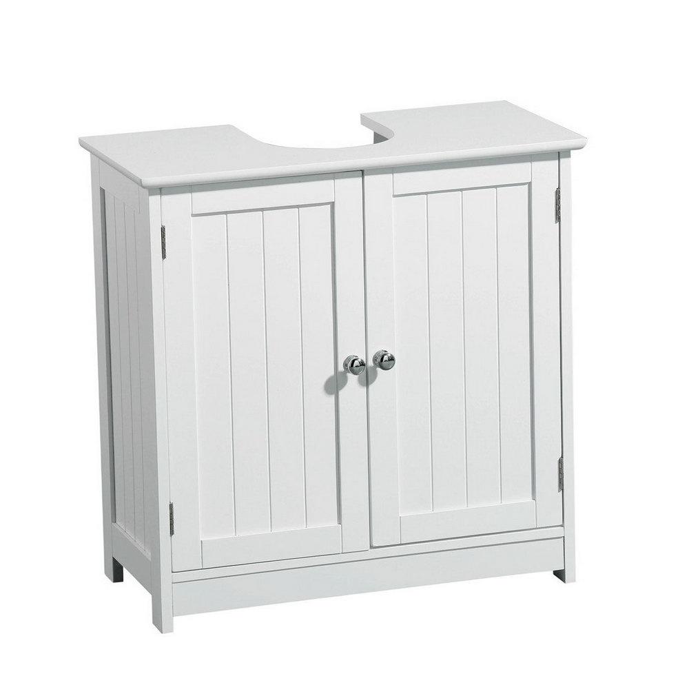 White Wood Storage Cabinet