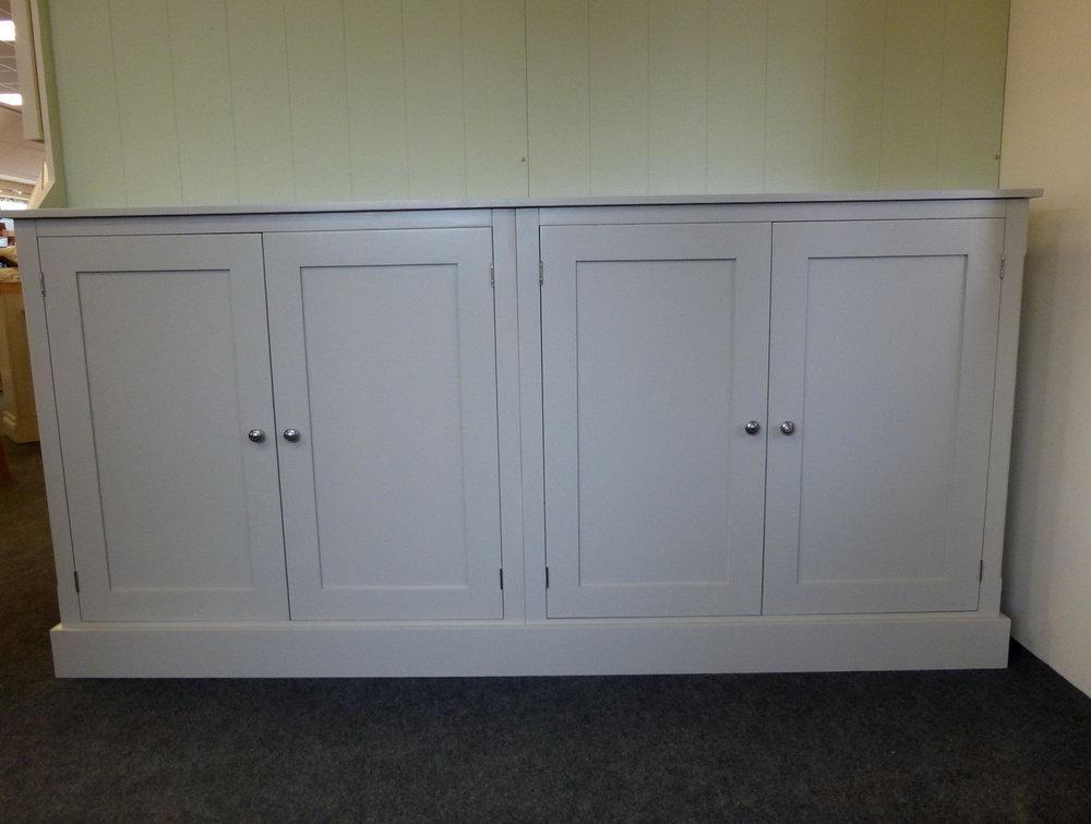 Wide Storage Cabinet With Doors