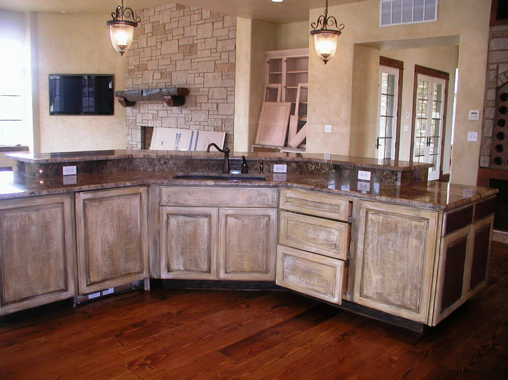 Wood Kitchen Cabinets Colors
