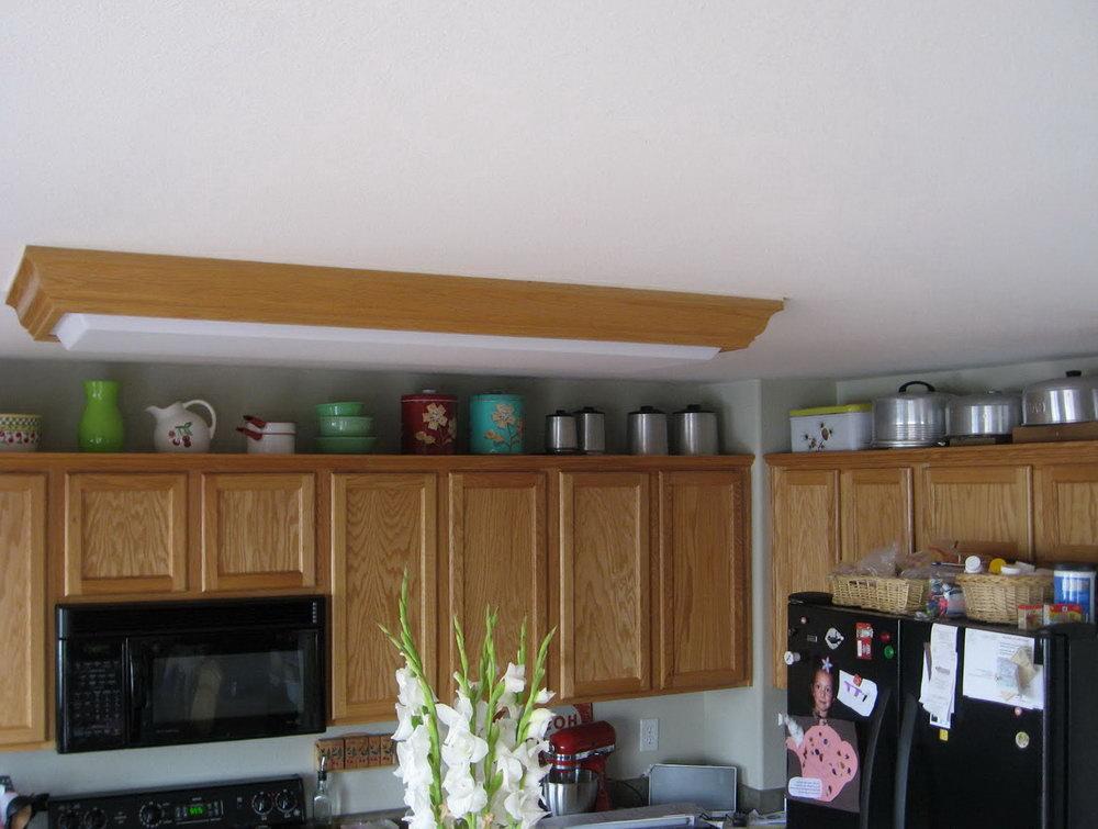 Above Kitchen Cabinet Decorative Accents