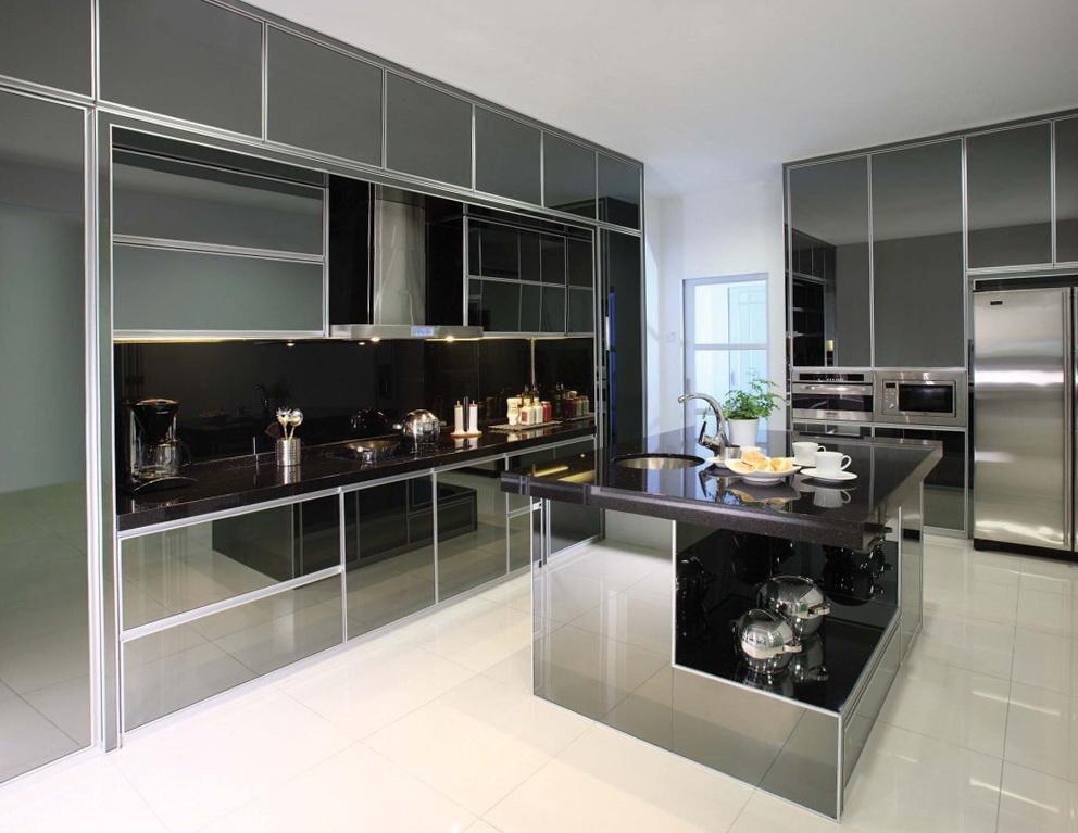 Aluminium Kitchen Cabinet Manufacturers