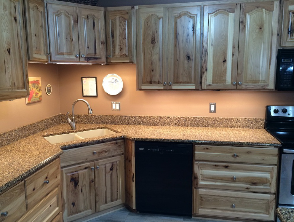 Amish Built Kitchen Cabinets