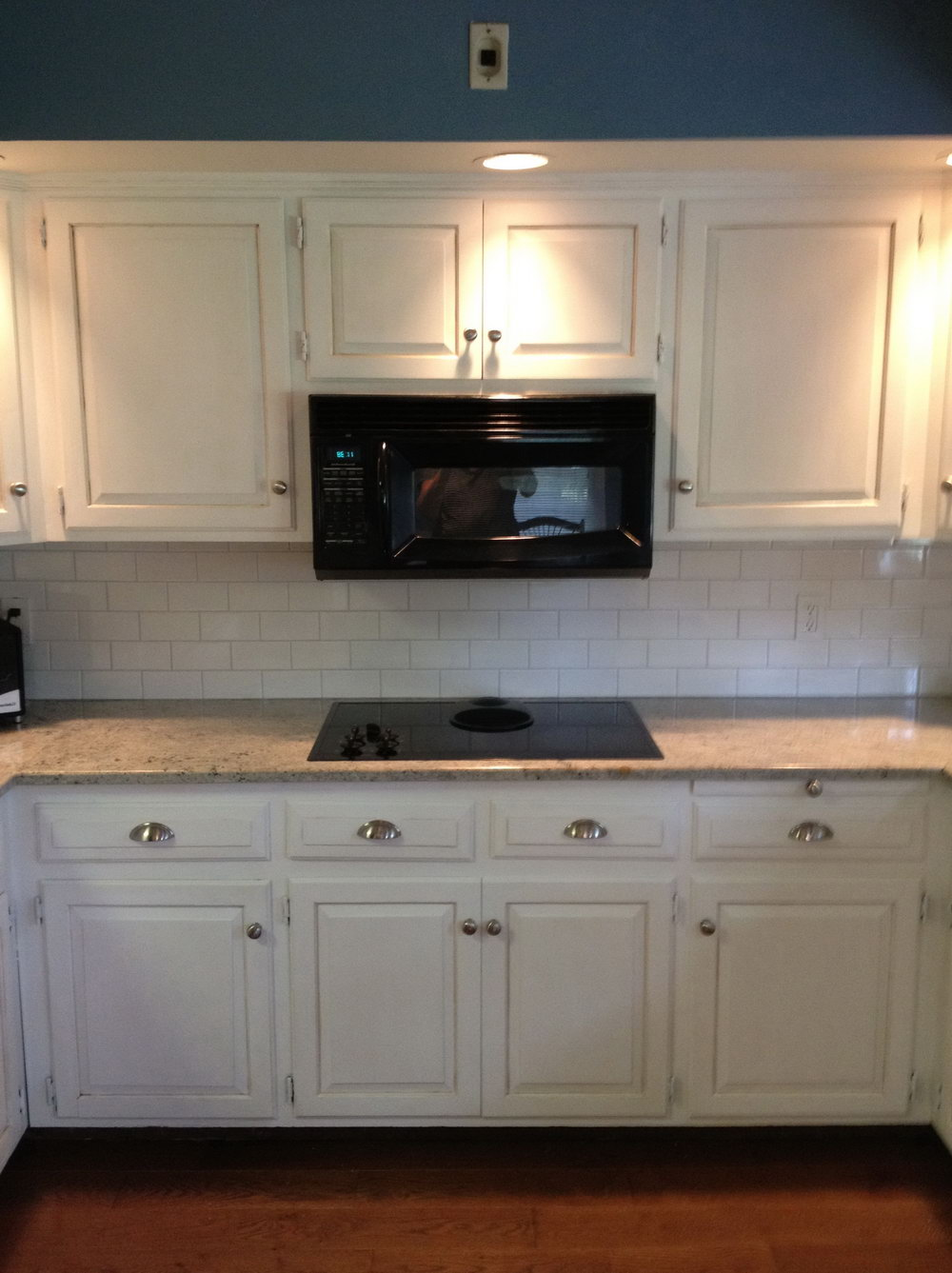 Annie Sloan Painted Kitchen Cabinets