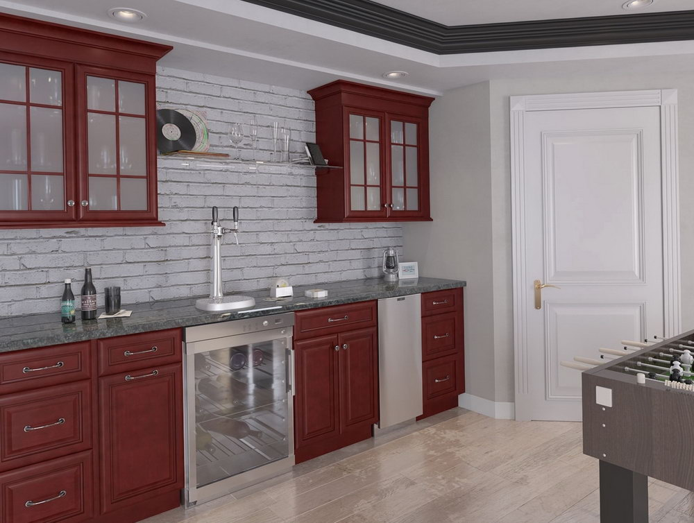 Assembled Kitchen Cabinets With Sink