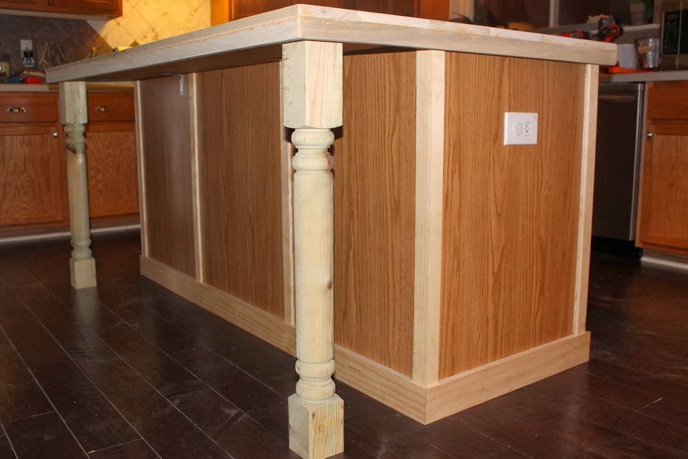 Base Kitchen Cabinets With Legs