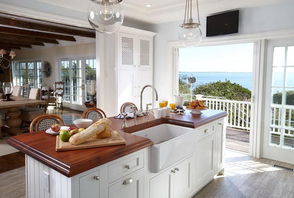 Beach House Kitchen Cabinets