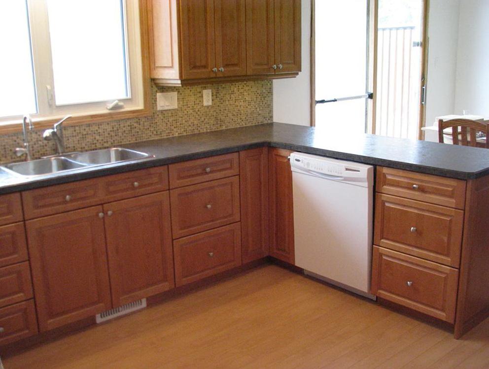 Birch Wood Kitchen Cabinets