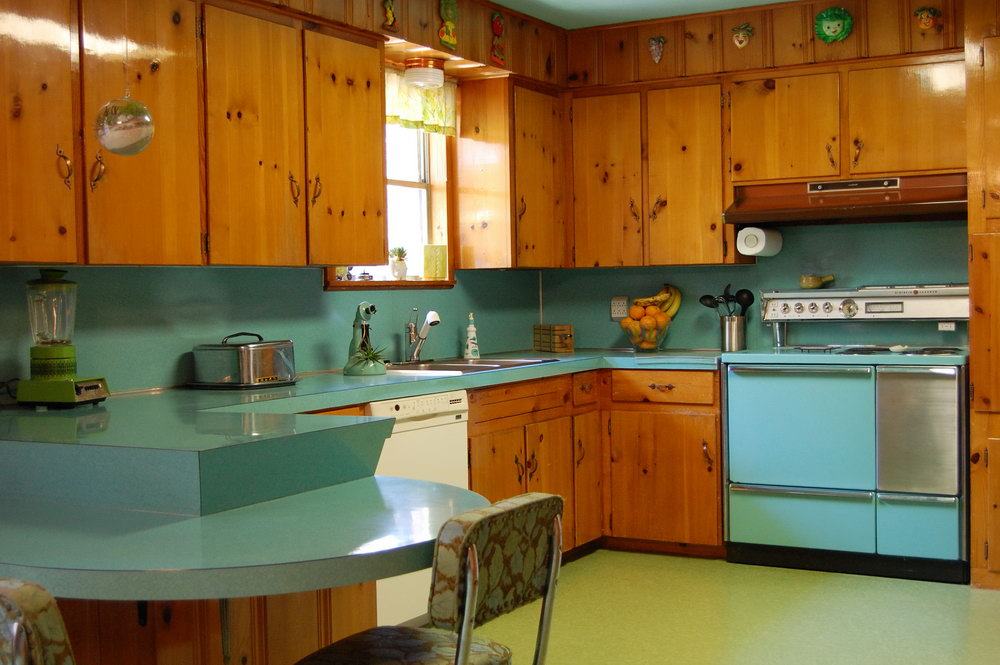 Blue Pine Kitchen Cabinets