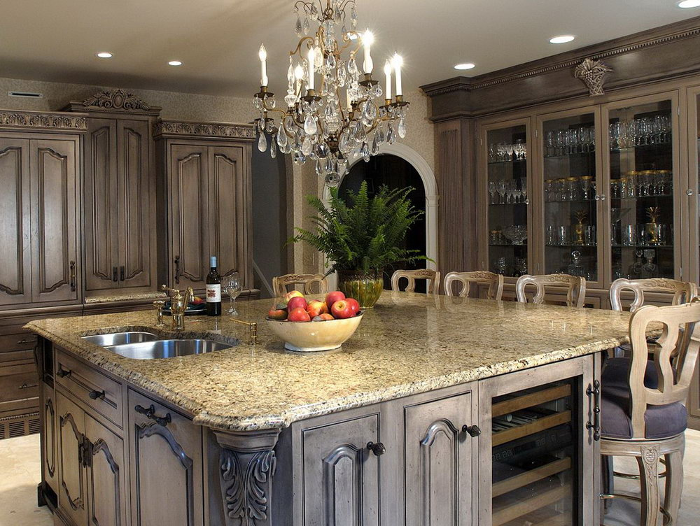 Brown Paint Colors For Kitchen Cabinets
