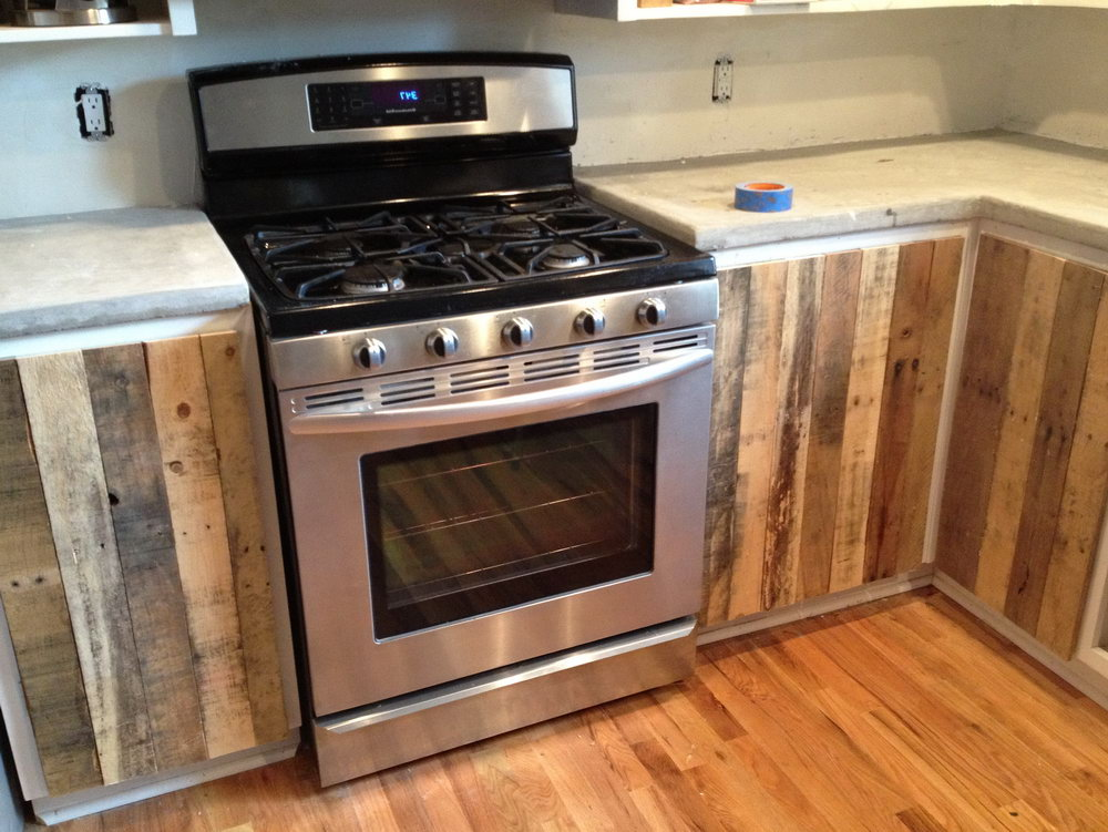 Build Kitchen Cabinets With Pallets