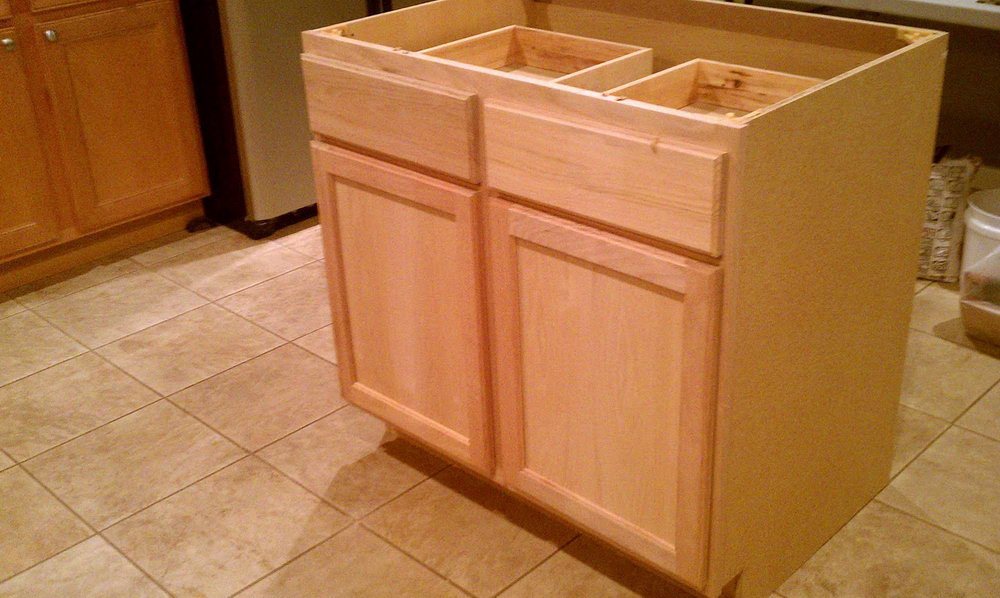 Building A Kitchen Cabinet From Scratch