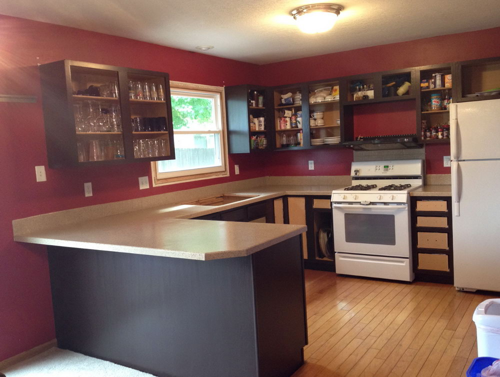 Can I Paint My Kitchen Cabinets With A Brush