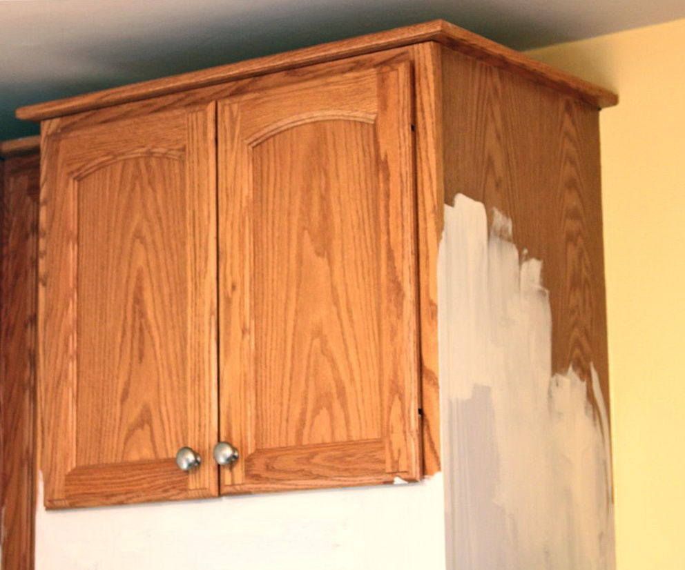 Chalk Paint On Laminate Kitchen Cabinets